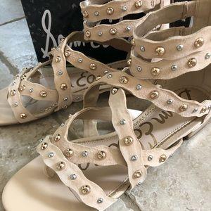"""Sam Edelman """"DAYA""""Suede Sandals size 9"""